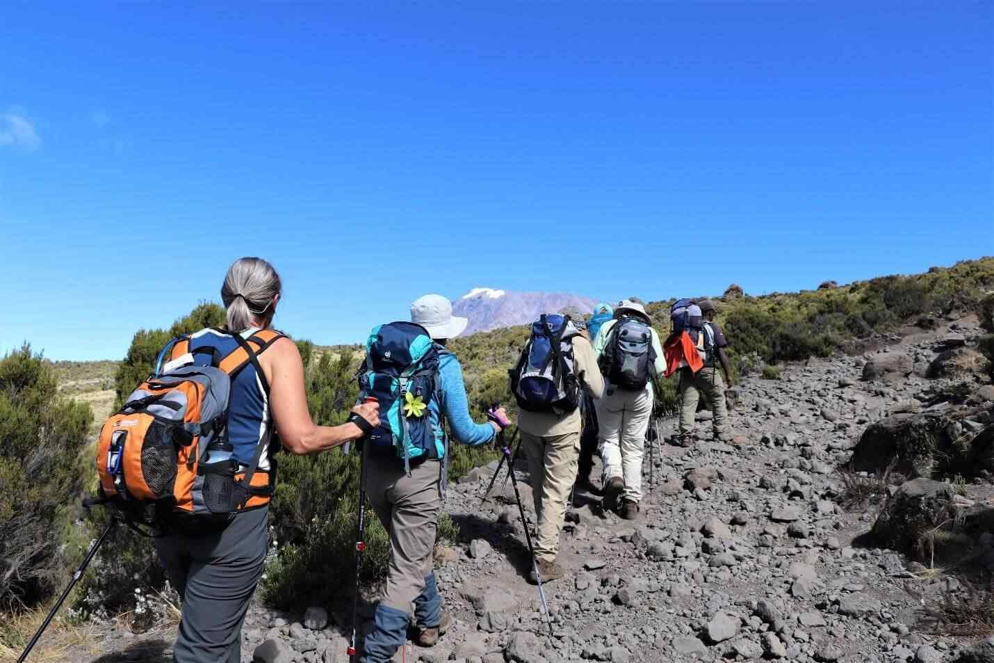 Mount-Kilimanjaro-Umbwe-Route-6-Days-Itinerary-